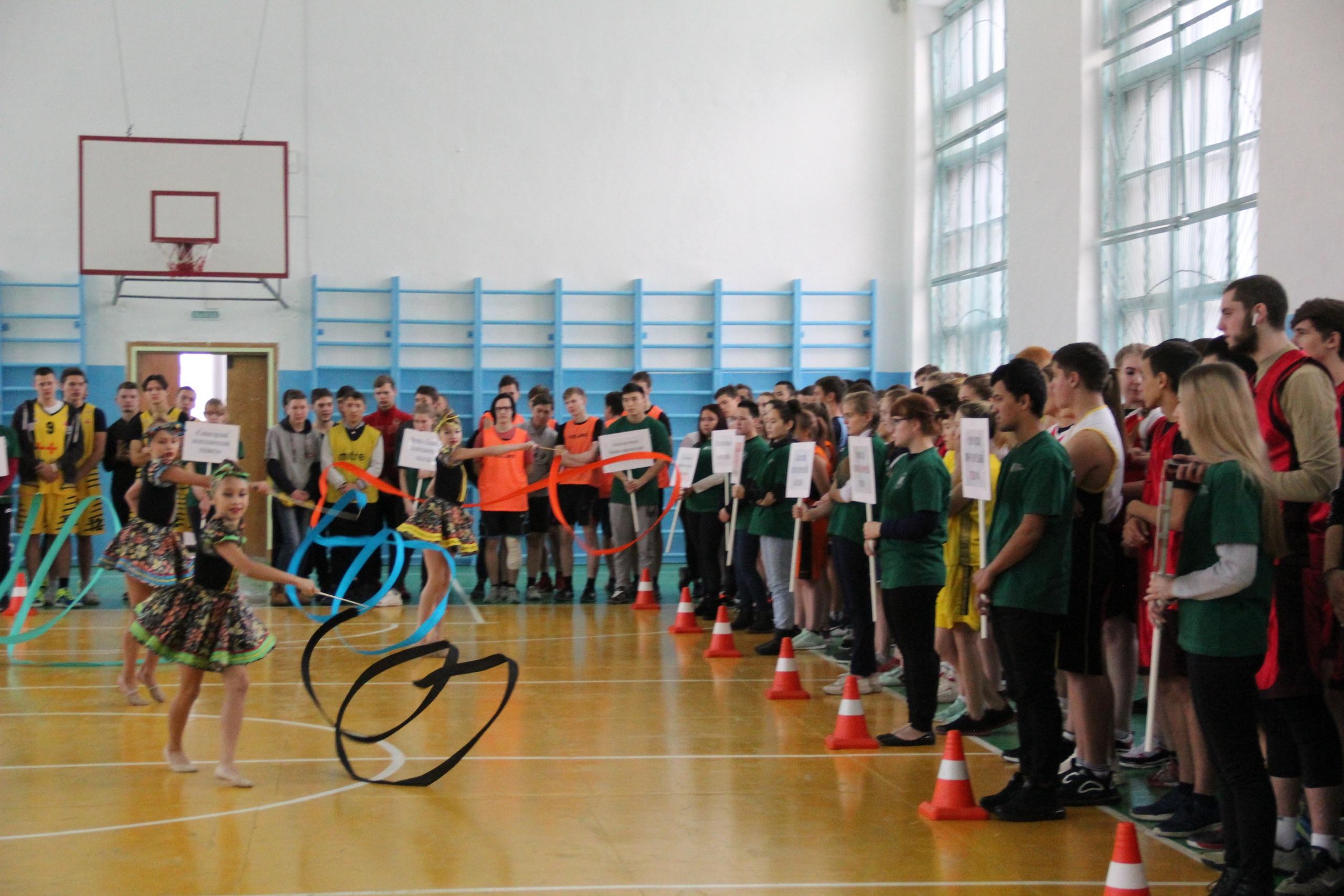 15 ноября прошли соревнования по баскетболу в рамках VI Спартакиады