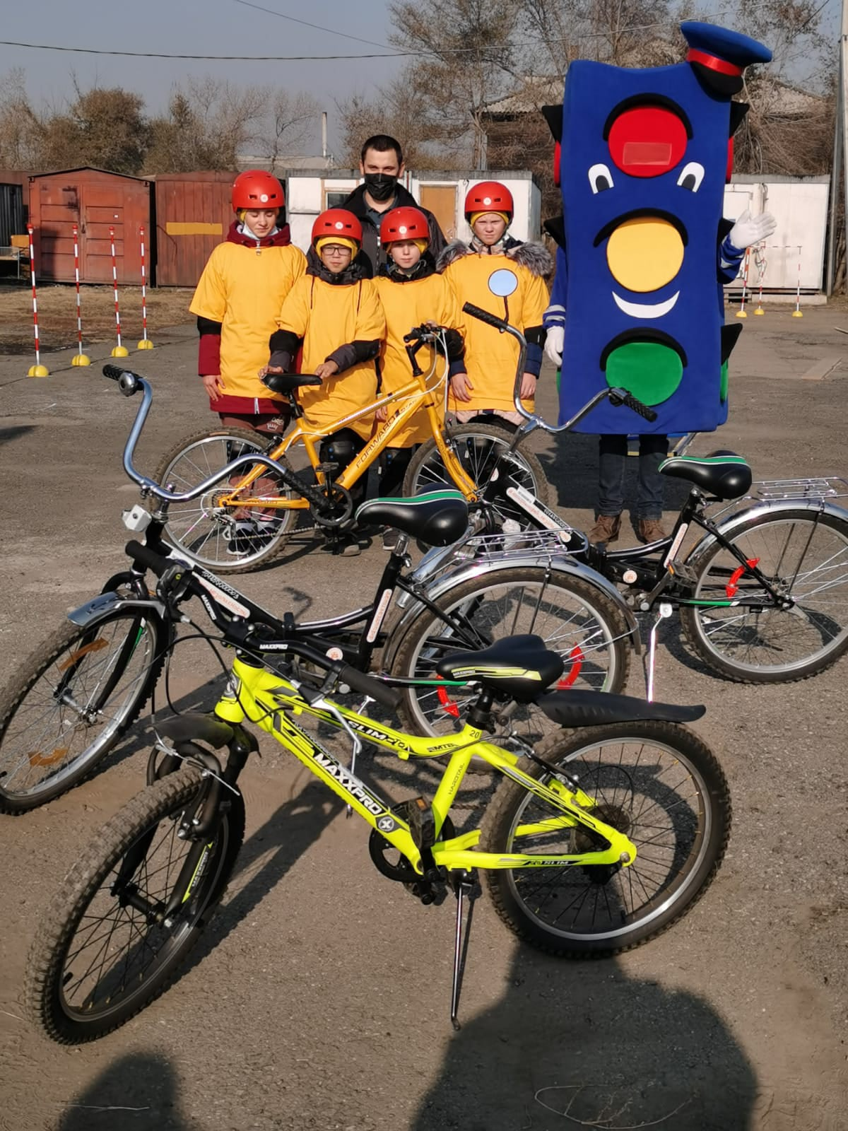 Итоги Республиканского конкурса-соревнования юных велосипедистов «Безопасное колесо –2021