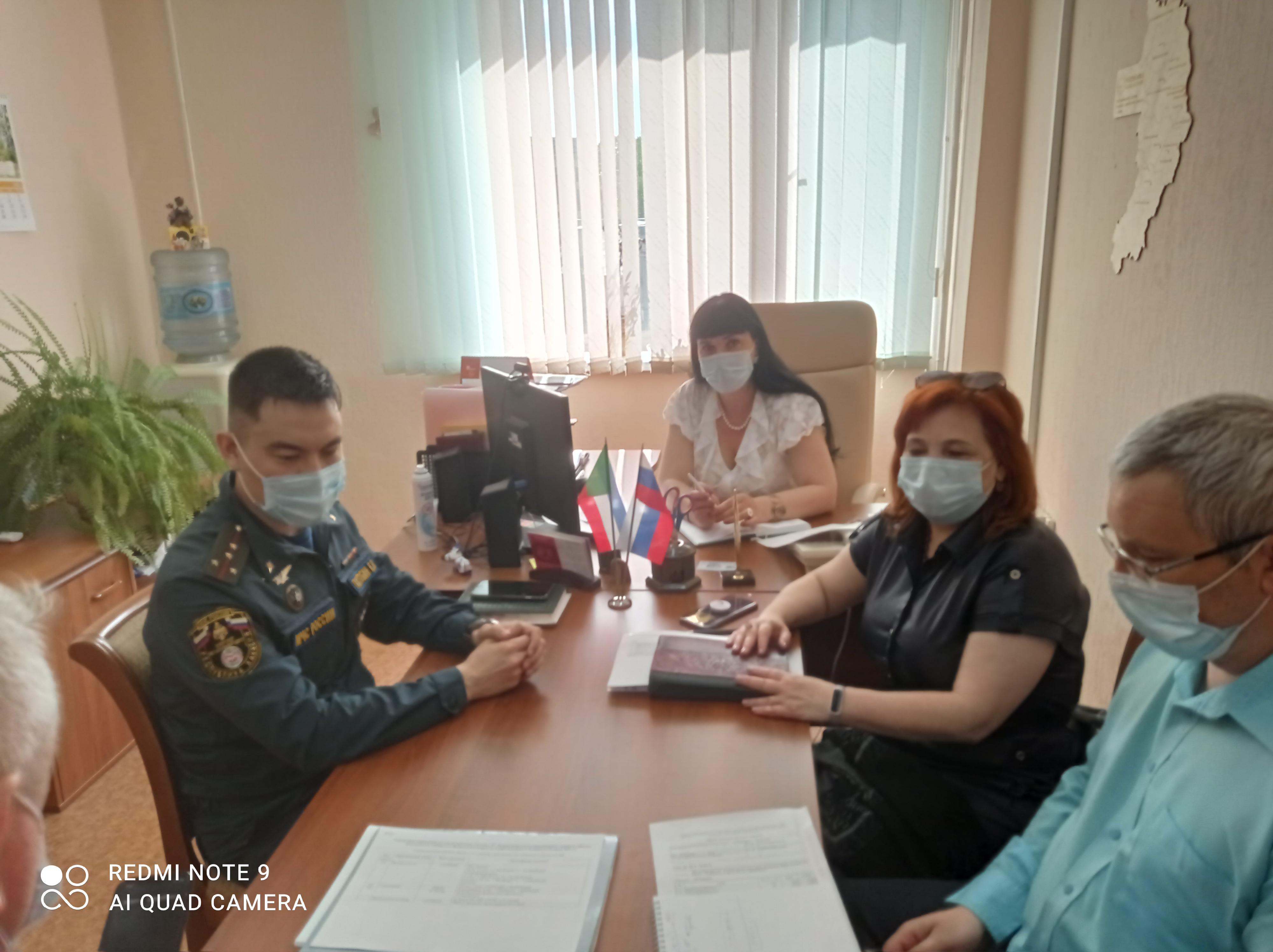 Сегодня, 25.05 прошло заседание оргкомитета по направлению команд на XV Межрегиональные соревнования «Школа безопасности», Сибирский федеральный округ