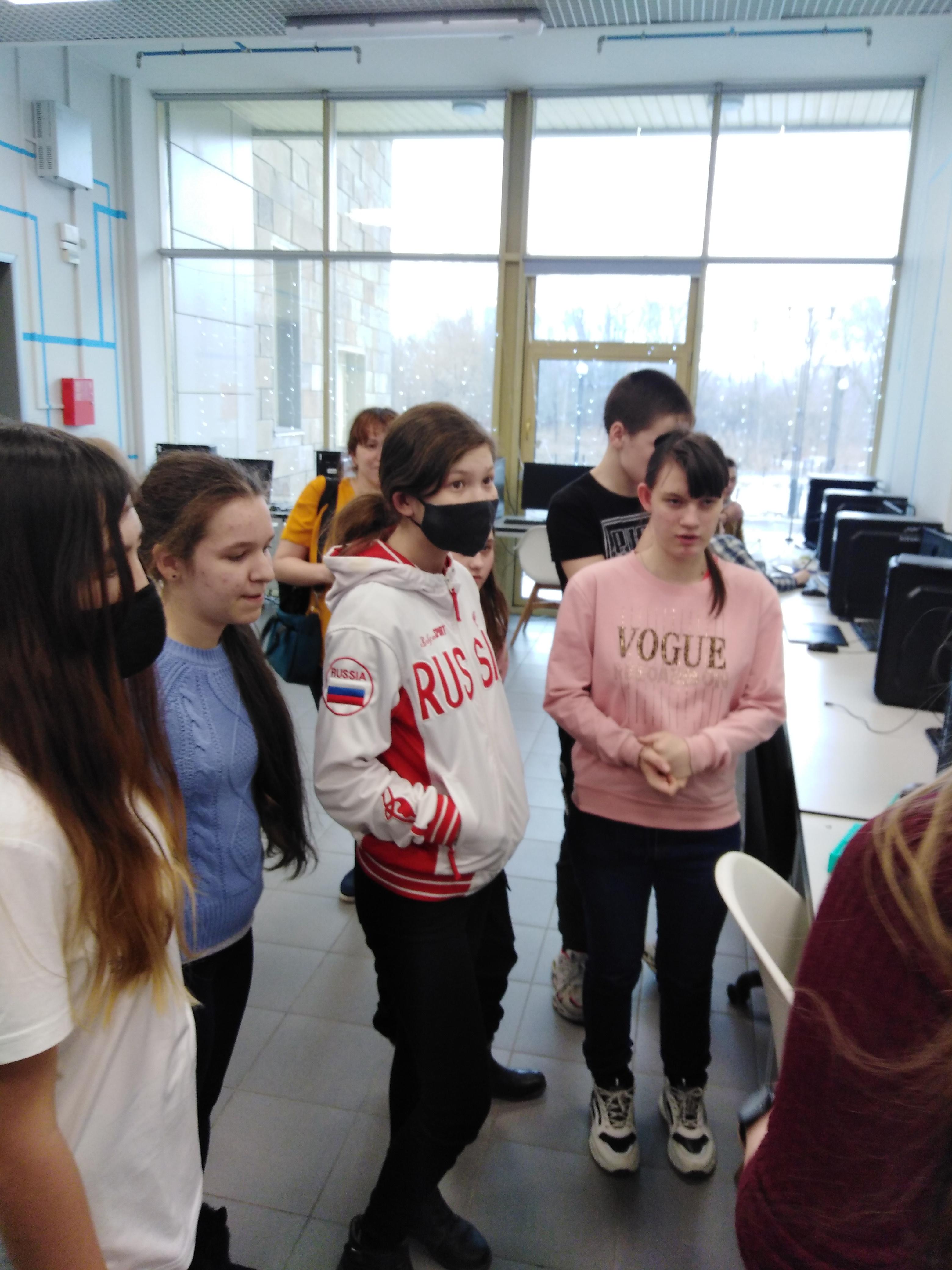25 марта в гостях у технопарка побывали обучающиеся Абазинской СОШ № 49 в составе 43 человек