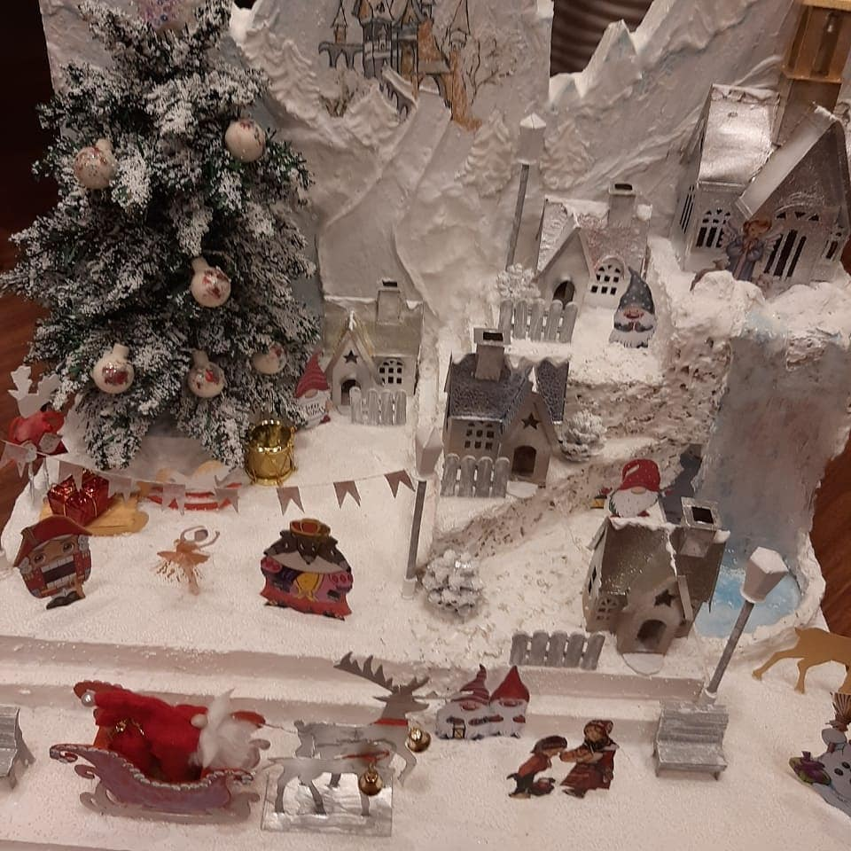 По итогам республиканского конкурса творческих работ «Мастерская Деда Мороза»