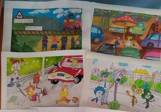 Итоги республиканского конкурса детского рисунка для обучающихся студий изобразительного искусства «Правила дорожного движения в картинках»