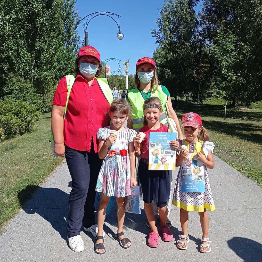Детям Хакасии безопасные дороги