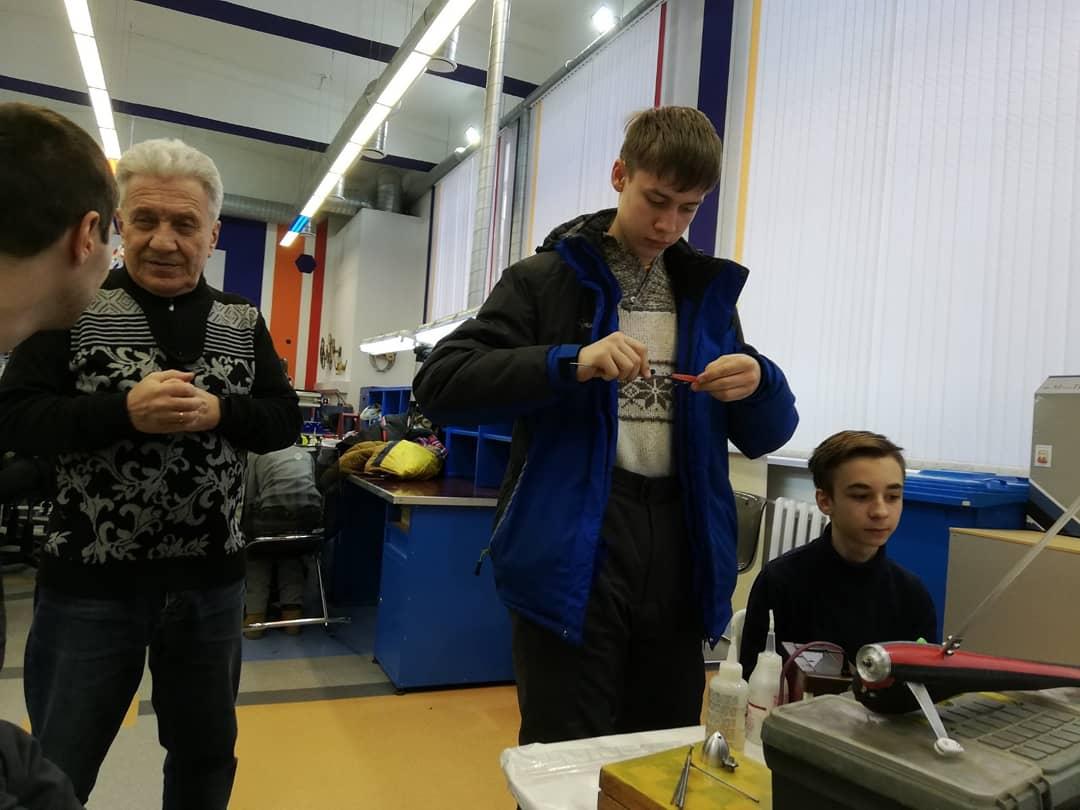 Наши автомоделисты в Детском технопарке Кванториум Тюменской области