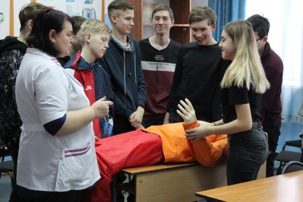 28 февраля 2020 года в Региональном центре по профилактике детского дорожно-транспортного травматизма «Лаборатория безопасности» прошел урок по первой помощи в рамках акции «Всероссийский урок по первой помощи».