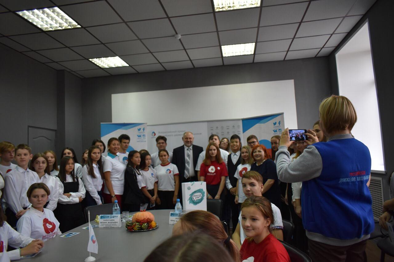 Состоялась встреча лидеров и активистов РДШ Республики Хакасия с министром культуры Республики Хакасия в рамках Всероссийского проекта