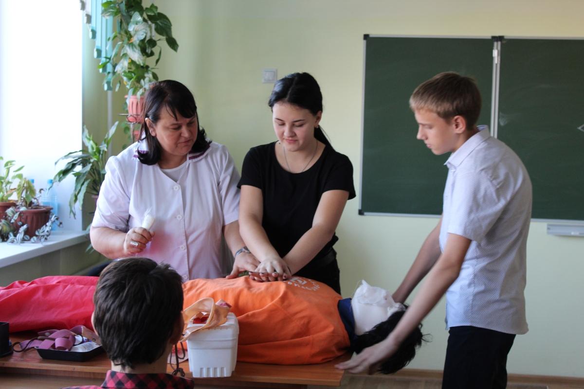 Педагогами «Лаборатории безопасности» ГБУ ДО РХ «РЦДО» были проведены мастер-классы