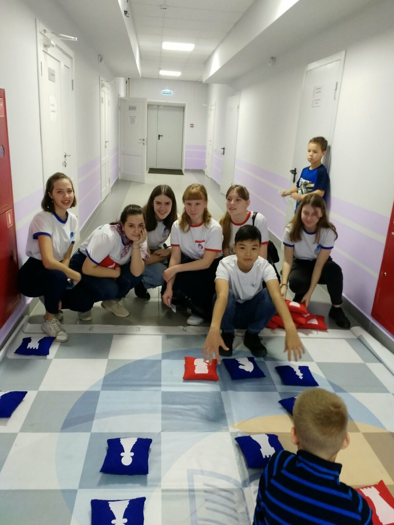 Лидеры регионального детского совета РДШ Хакасии организовали площадку на форуме