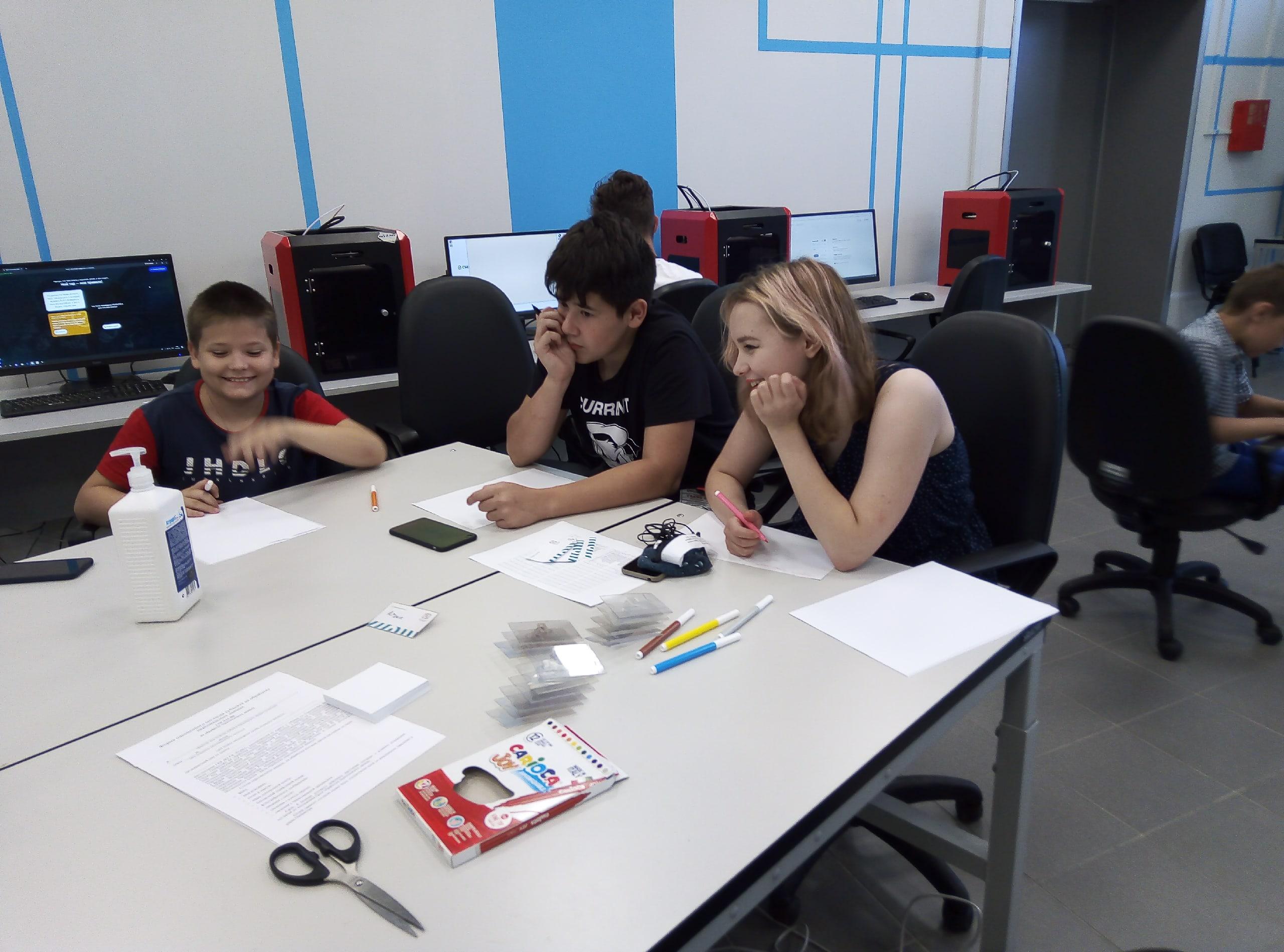 В детском технопарке «Кванториум «Хакасия» открылся образовательный интенсив