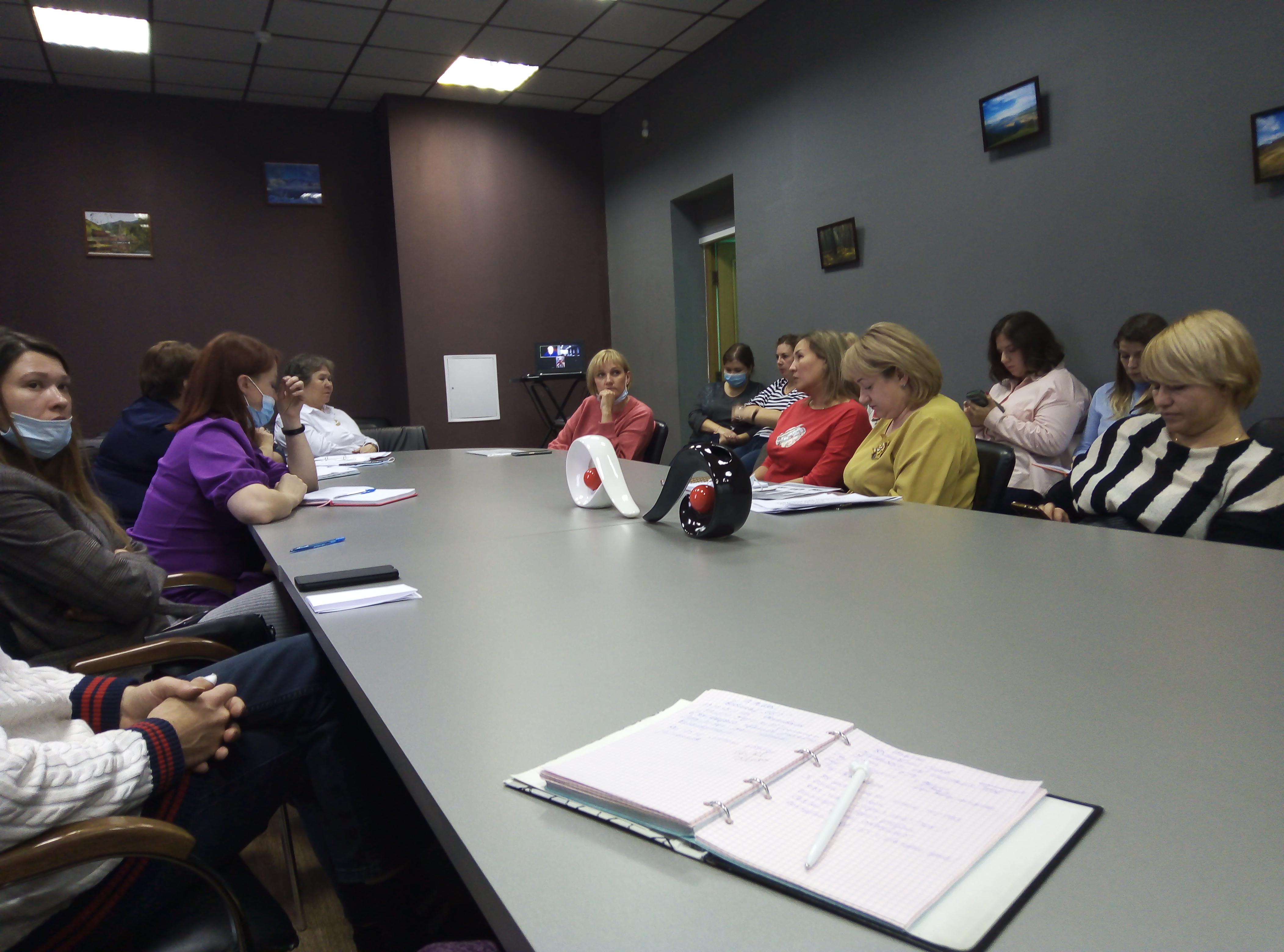 В РЦДО состоялось отчетно-выборное собрание Хакасского отделения Национальной родительской ассоциации