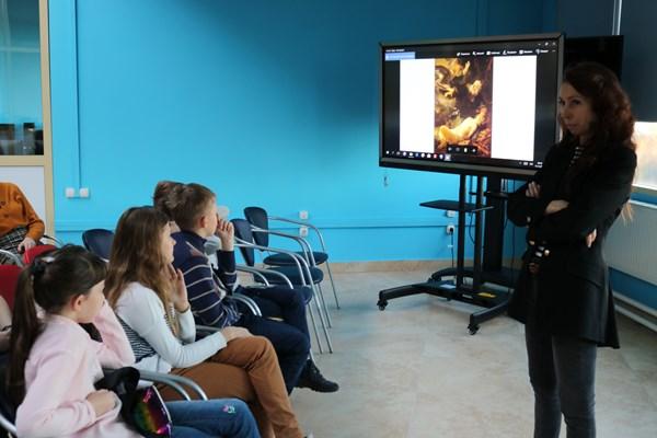 В технопарке «Кванториум «Хакасия» продолжается «Неделя искусств»