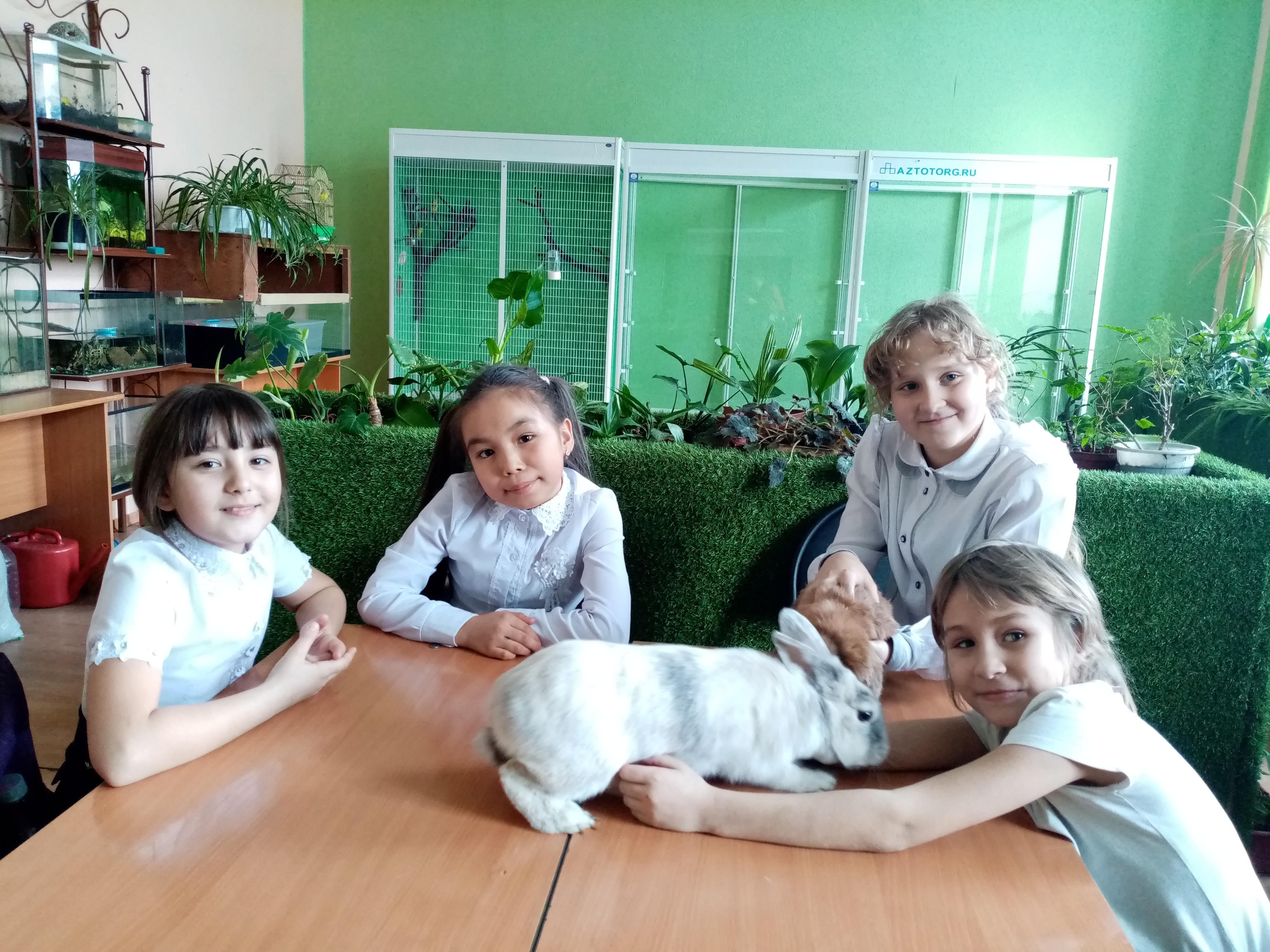Центр живой природы «Росток» в РЦДО объявляет набор детей  на обучение