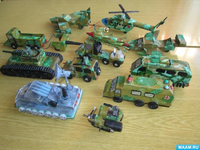 Стартует детский фестиваль модельной военной техники